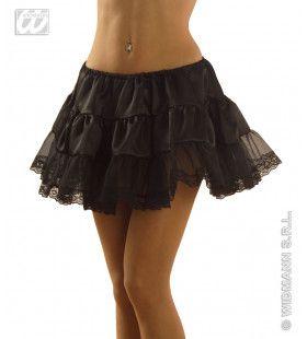 Petticoat Zwart Dubbel