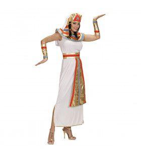 Traditionele Koningin Van De Nijl Kostuum Vrouw