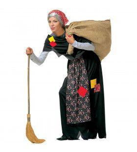 Kreupele Oude Heks Kostuum Vrouw