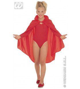 Rode Cape, Kind, 90cm Kostuum