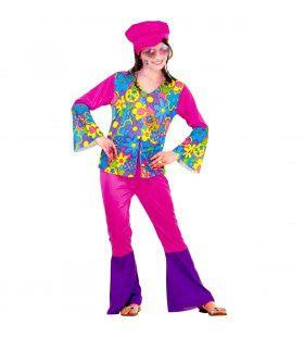 Hippie Meisje Ms Love Kostuum
