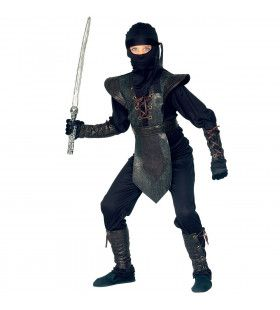 Zwarte Ninja Assault Kostuum Jongen