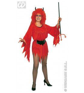 Extravagante Duivelin Kostuum Vrouw