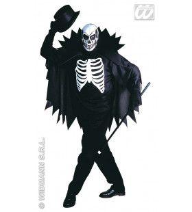 Mr Skeleton Guy Says Hi Kostuum Man