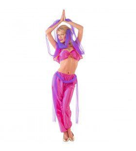 Buikdansende Harem Danseres Kostuum Vrouw