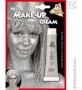 Tube Make-Up Zilver