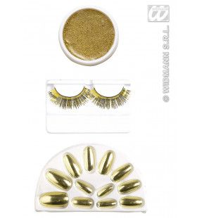 Make-Up Set, Goud