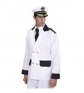 Kapiteinsjas Man Kostuum