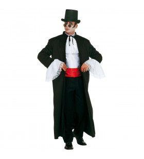 Snelle Verkleedset, Dracula Transilvanian Gentelman XL Kostuum