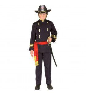 Generaal Kind Cavalerie Kostuum Jongen