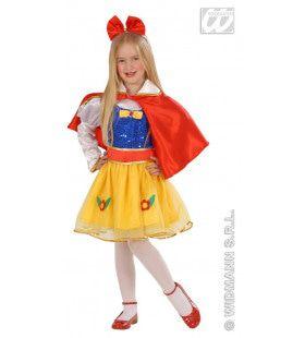 Kleurrijk Sprookjesprinses Kind Kostuum Meisje