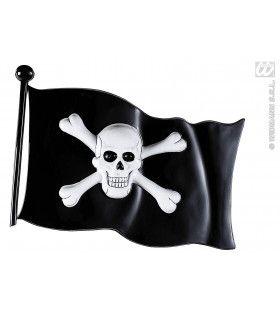 Decoratie Piratenvlag 45x32cm