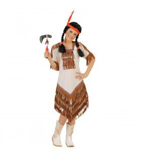 Indaans Meisje Hiawatah Kostuum