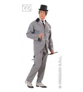 Londens Heer Van Stand 19e Eeuw Kostuum Man