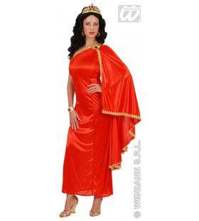Romeinse Keizerin Ms Caesar Kostuum Vrouw
