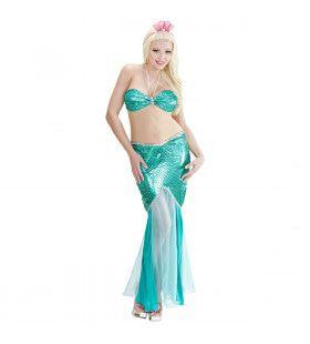 Lady Of The Ocean Zeemeermin Kostuum Vrouw
