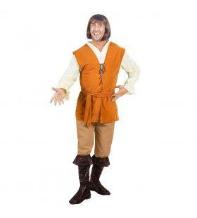 Boer Middeleeuwen Herbergier Kostuum Man