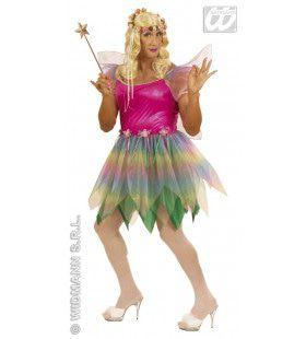 Mannelijke Regenboog Fee Prins Charming XL Kostuum