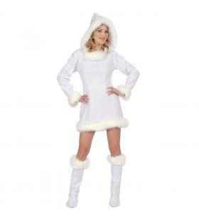 Eskimo Meisje Hot Polar Kostuum Vrouw