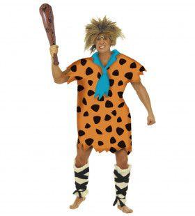 Flintstones Man Stenen Tijdperk Kostuum