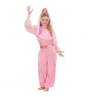Dansende Arabische Schone Kostuum Meisje