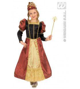Koninklijke Prinses Kind Palace Prinses Kostuum Meisje