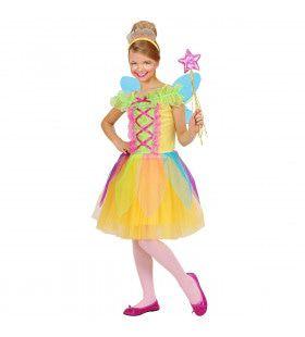 Multicolour Fee Kleurrijk Kostuum Meisje