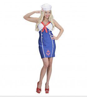 Sexy Sailor Girl Vrouw Kostuum