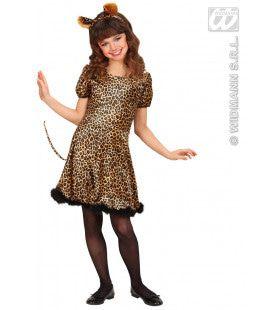 Luipaard Silky Leopard Kostuum Meisje