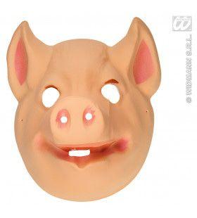 Plastic Kindermasker Varken