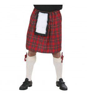 Schotse Kilt Rode Ruiten