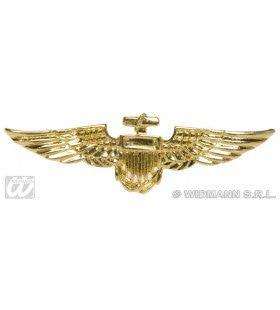 Broche Goud Vliegenier