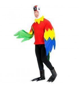Vrolijke Papegaai Kostuum Man
