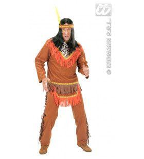 Indiaan Man Netzalcoatl Kostuum