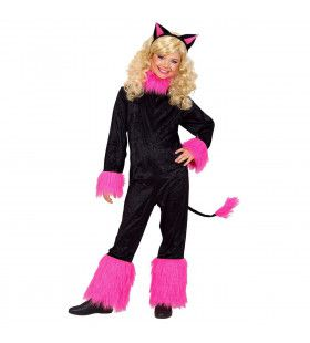 Katje, Pink Kitten Kostuum Meisje