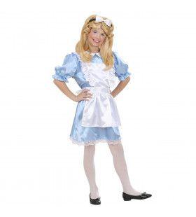 Wonderland Alice Kostuum Meisje