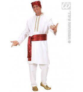 Bollywood Ster Vliegend Tapijt Kostuum Man