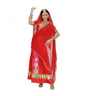 Bollywood Diva Asia Kostuum Vrouw
