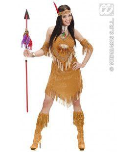 Indiaanse Vredespijp Kostuum Vrouw