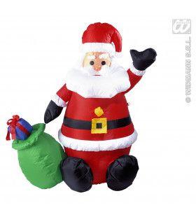 Opblaasbare Kerstman 122cm, Gebruik Binnen
