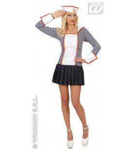 Sexy Matroos, Meisje Land In Zicht Kostuum Vrouw