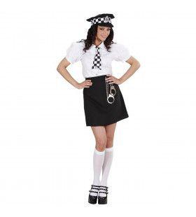 Brits Politie Meisje Downing Street Kostuum Vrouw