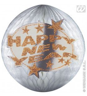Happy New Year Baldecoratie Papier