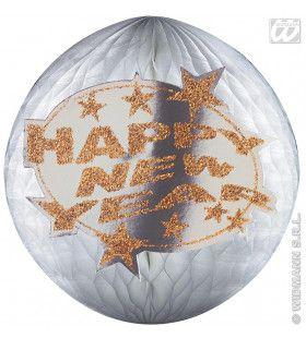 Happy New Year Baldecoratie Papier