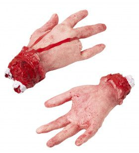 Afgehakte Hand Met Afgesneden Vinger Horrific