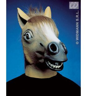 Paarden Masker Met Haar