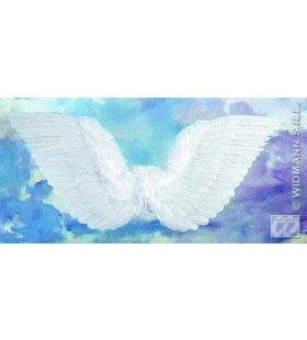 Gevederde Vleugels Wit 86x31