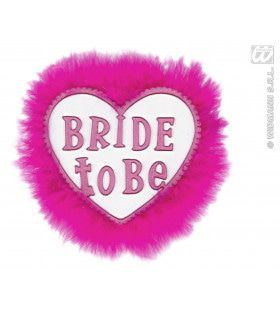 Broche Wit Bride To Be