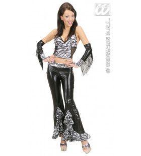Top Zebra Vrouw Kostuum