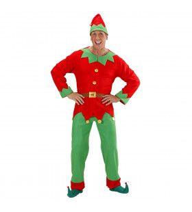 Elf Man Santas Hulpje Kostuum